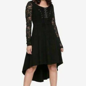 Tripp Hot Topic Gothic Double Corset Lace Dress